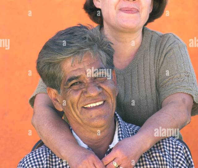 Mexican Husband And Wife Stock Image