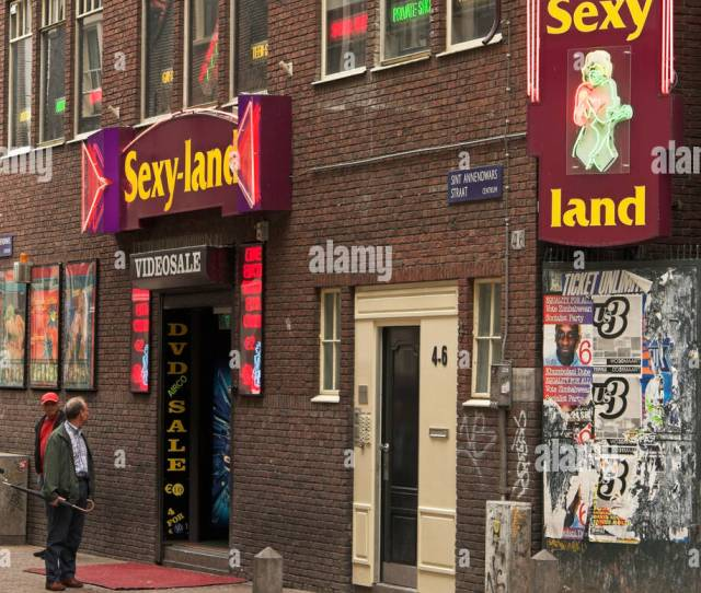 Sexy Land Adult Video Store In Amsterdam The Netherlands
