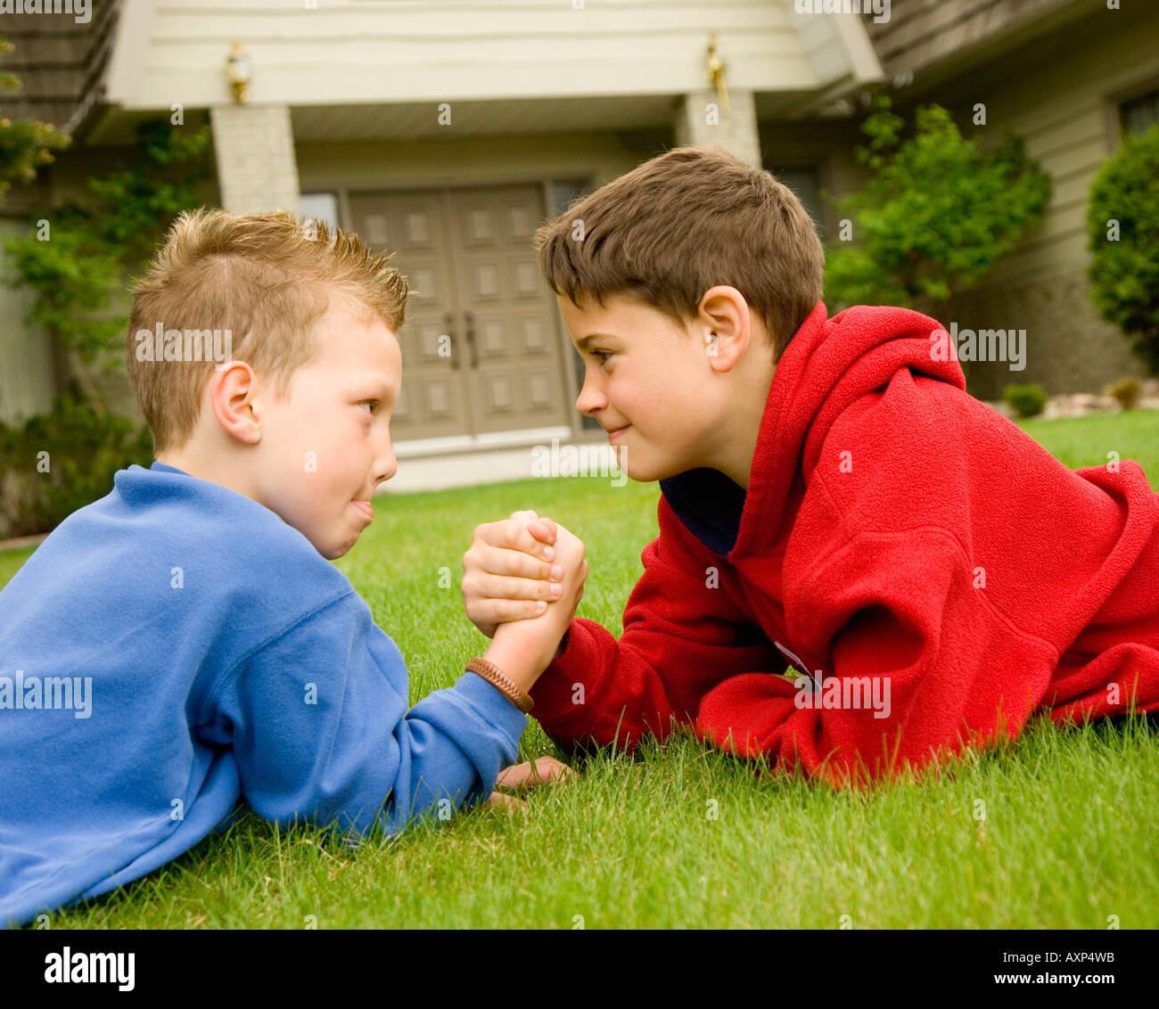 Teen Boys Wrestling Stock Photos Amp Teen Boys Wrestling
