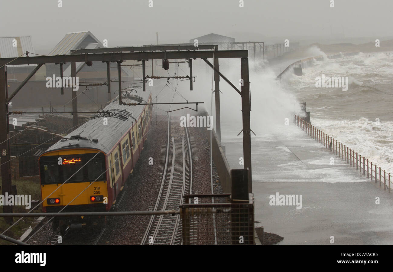 Train In Extreme Weather Conditions Stock Photo Royalty