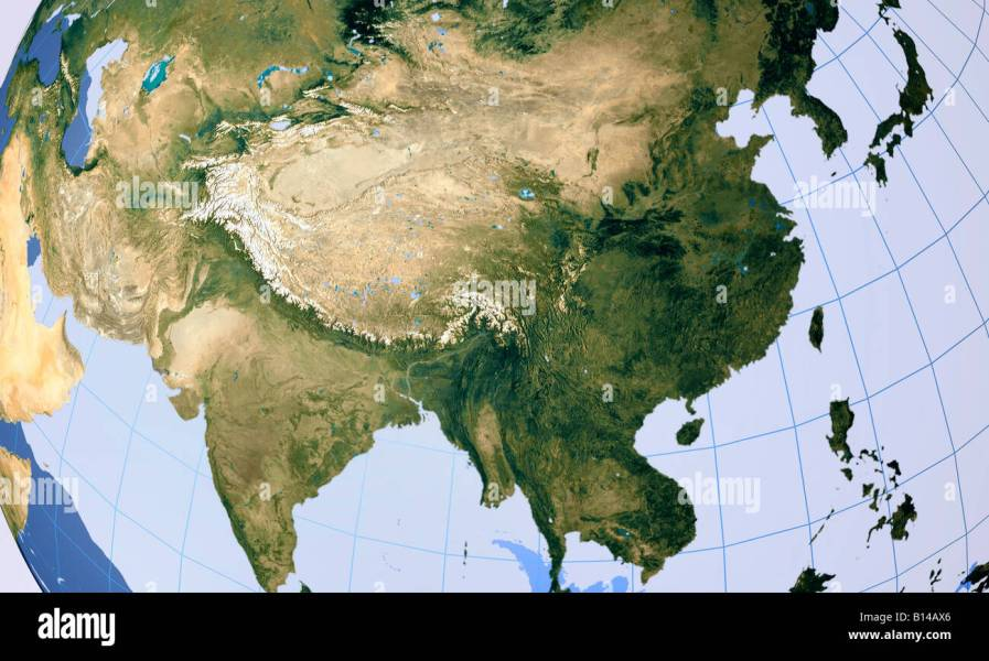 Asian continent map Stock Photo  17921406   Alamy Asian continent map