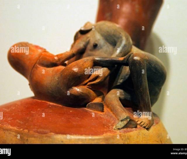 Inca Ceramic Figures Showing People Having Sex Larco Museum Lima Peru