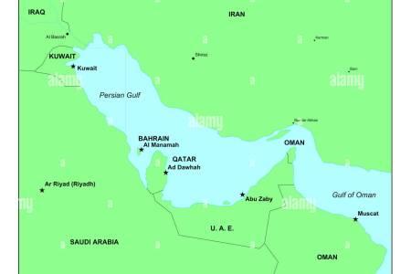 persian gulf on map » ..:: Edi Maps ::..   Full HD Maps