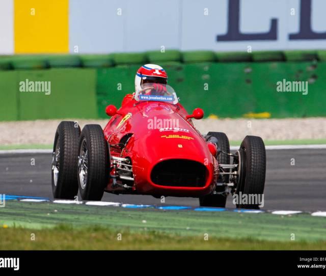 Ferrari  Former Pilot Alberto Ascari Jim Clark Revival Historic Grand