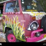 Volkswagen Bus Flower Power High Resolution Stock Photography And Images Alamy