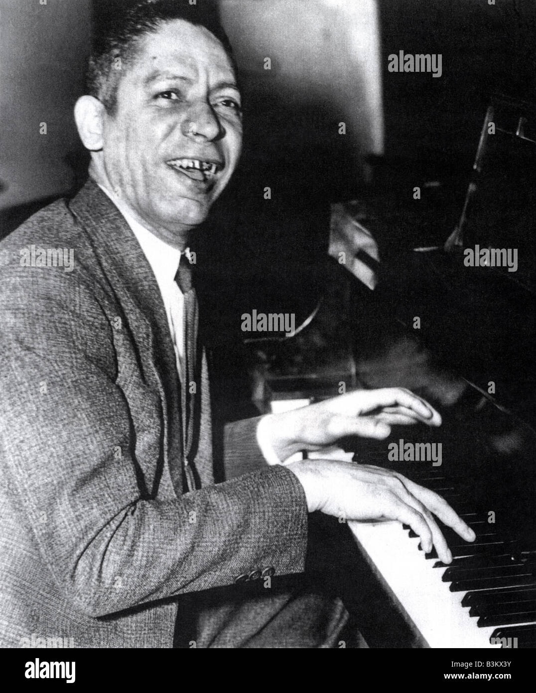 Jelly Roll Morton Us Ragtime Musician About Stock Photo