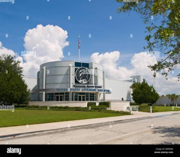 ASTRONAUT HALL OF FAME TITUSVILLE FLORIDA Stock Photo ...