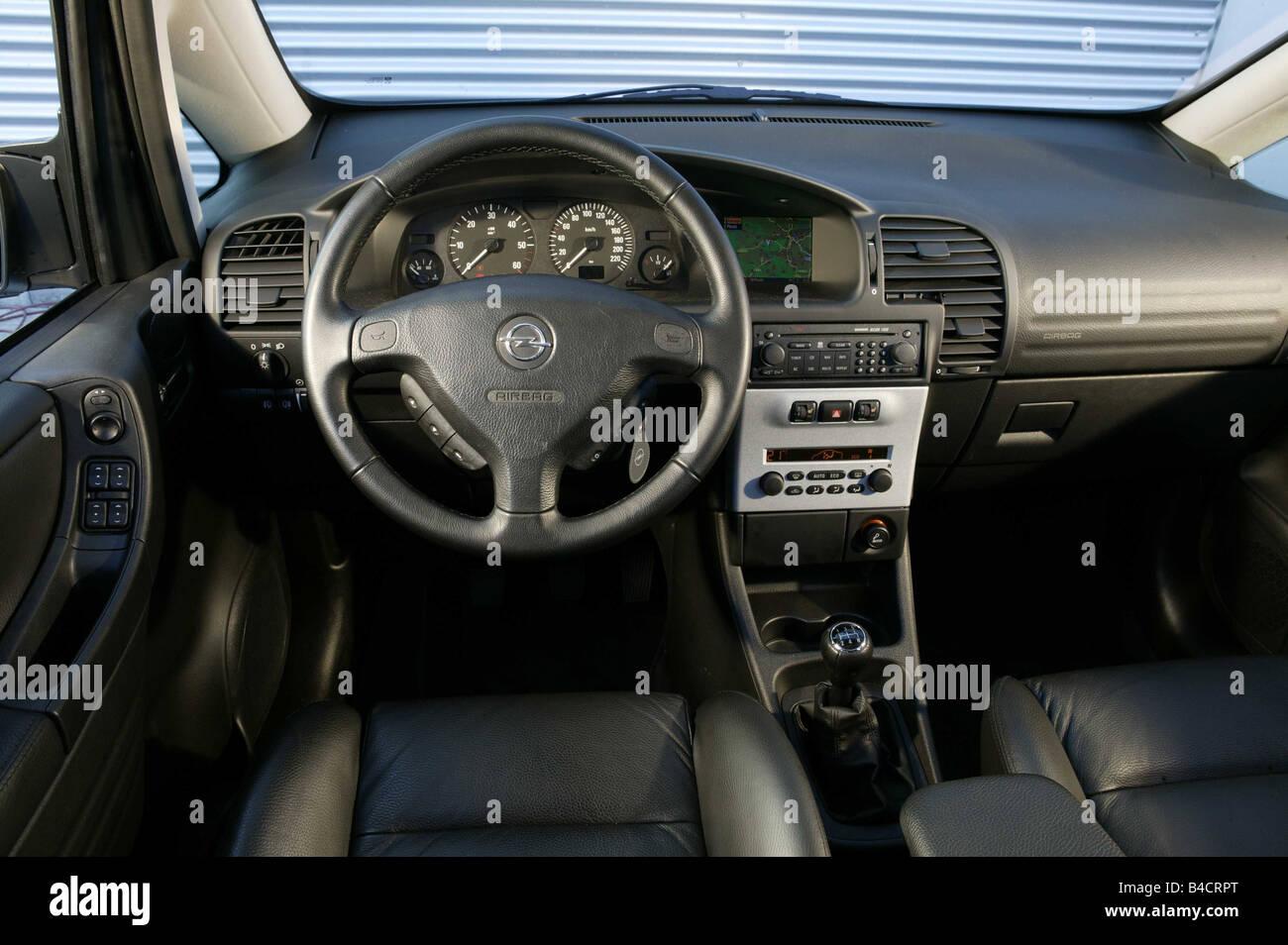 Car Opel Zafira 2 2 Dti Model Year Silver Van