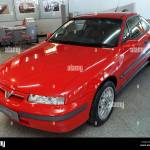 Red Vauxhall Calibra Car September 1997 In Showroom Stock Photo Alamy