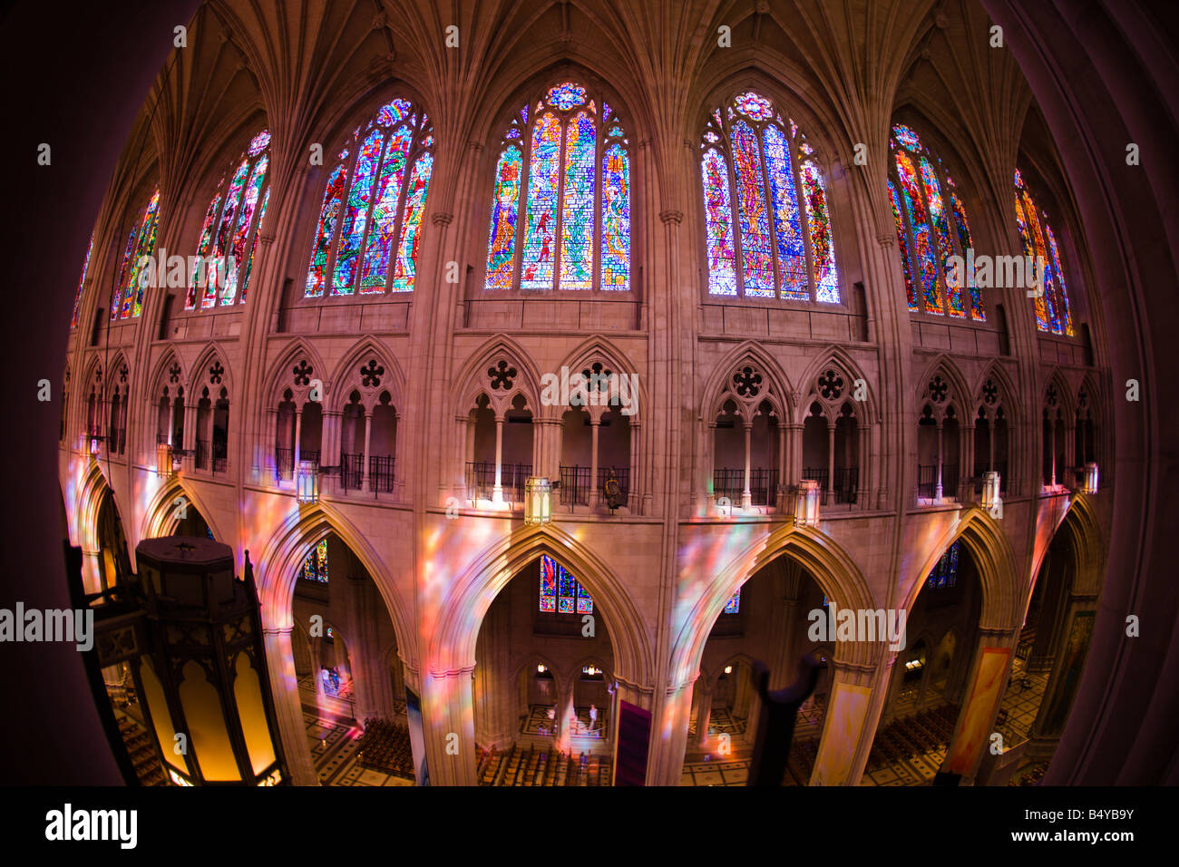 Interior Of The Washington National Cathedral In