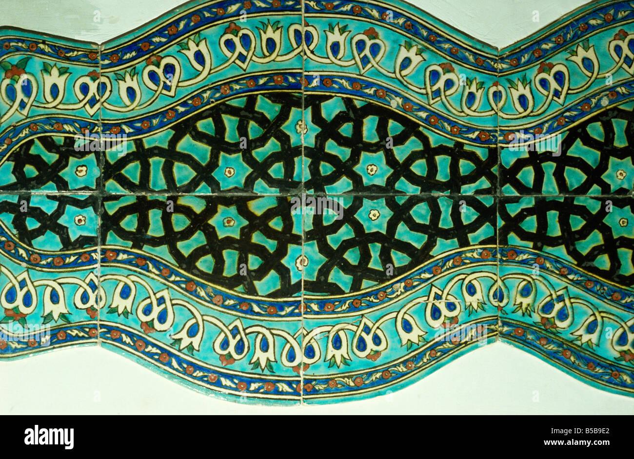 https www alamy com stock photo ancient tiles in karatay medrese museum of ceramic art konya anatolia 20532570 html
