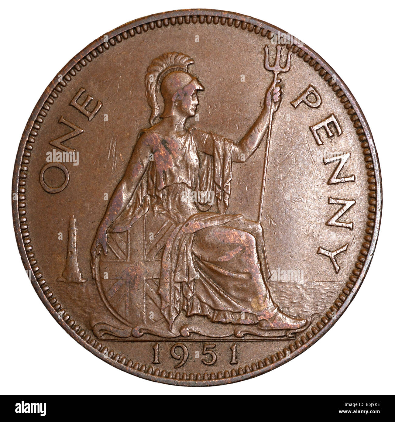 1 Penny Old Pence One Denomination Coins Pfennigs