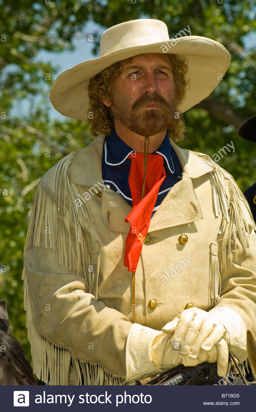 George Custer 7th Cavalry Custers Last Stand Reenactment