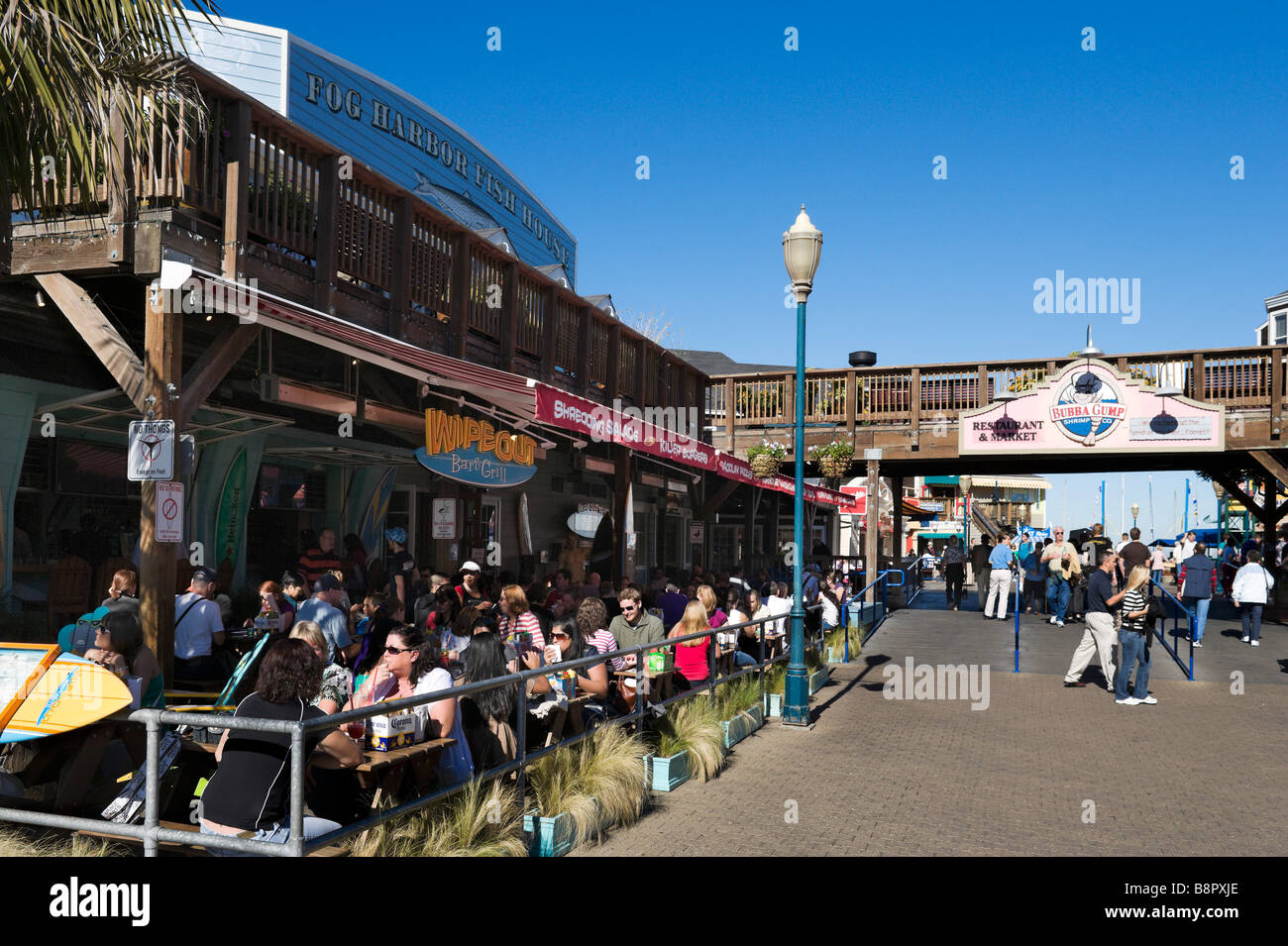 Lunch Fishermans Wharf San Francisco