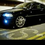 Bmw 318ci Coupe Black With M3 Alloy Wheels E36 Model Stock Photo Alamy