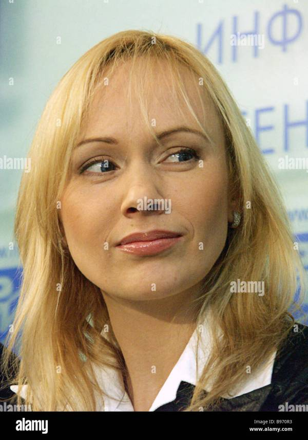World figure skating champion Maria Butyrskaya addresses ...