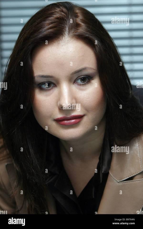MISS UNIVERSE 2002 TV anchor Oksana Fedorova at the RIA ...