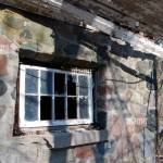 An Decaying Old Stone Cottage With A Leaky Roof And Broken Windows In Stock Photo Alamy