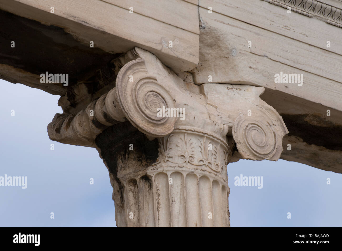 Ionic Order Of Greek Architecture Stock Photos Amp Ionic