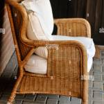 Bamboo Sofa Set With Cushion Stock Photo Alamy