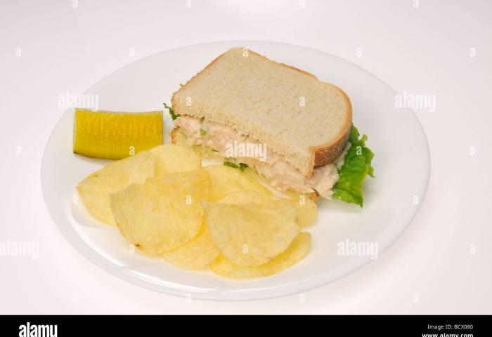 Tuna Sandwich Stock Photos Tuna Sandwich Stock Images Alamy