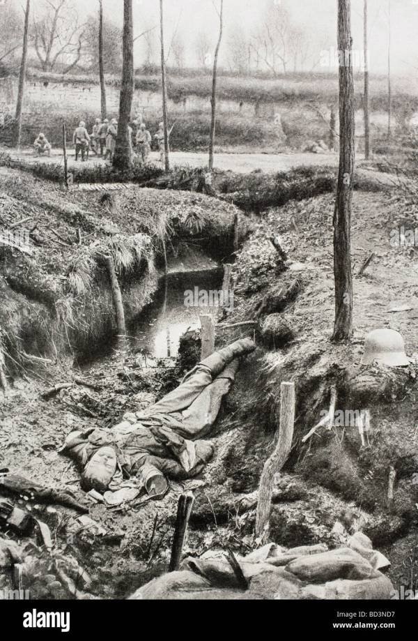 German dead on the Western Front during the First World ...