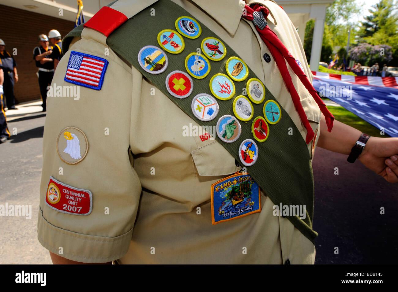 Boy Scout Uniform Stock Photos Amp Boy Scout Uniform Stock
