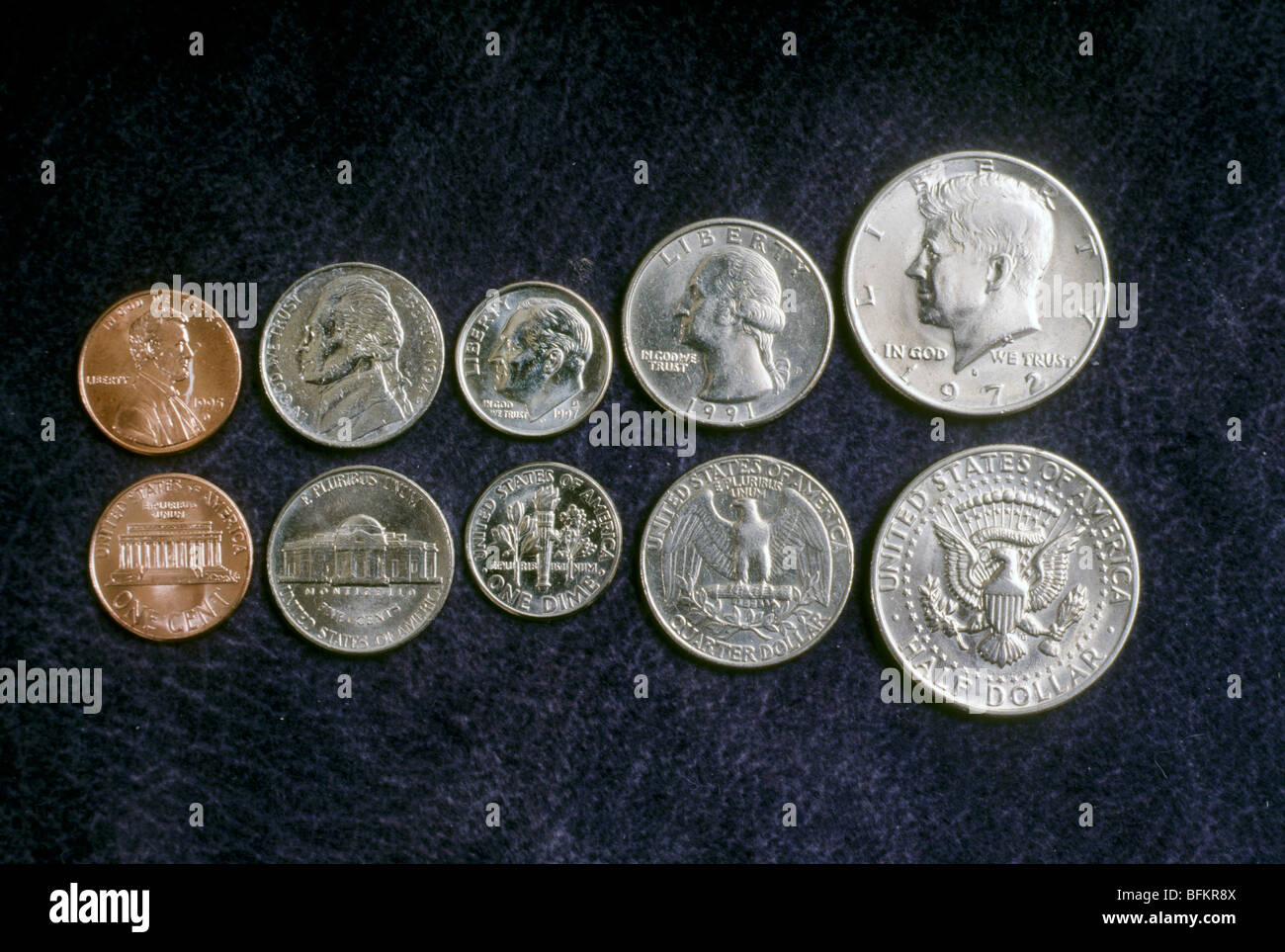 Quarters Dimes Nickels And Pennies
