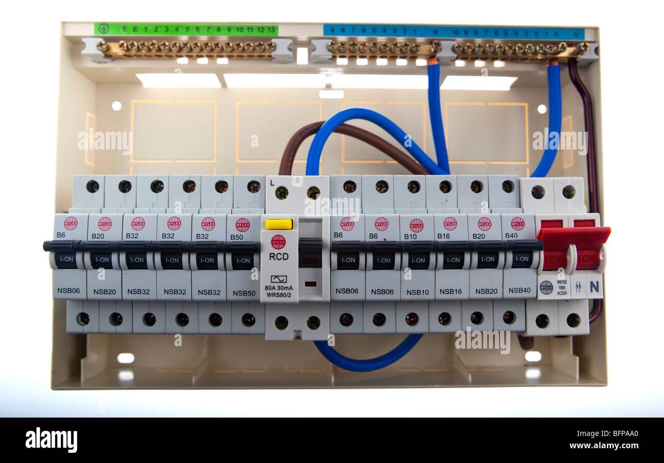 Split Load Consumer Unit Wiring Diagram Split Load Consumer Unit ...