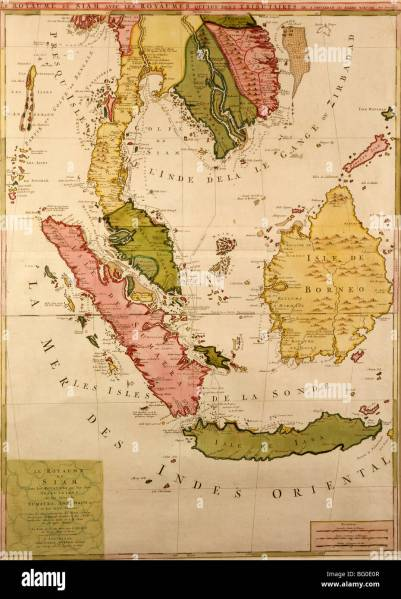 Old Map of Southeast Asia  Asia Stock Photo  27055863   Alamy Old Map of Southeast Asia  Asia