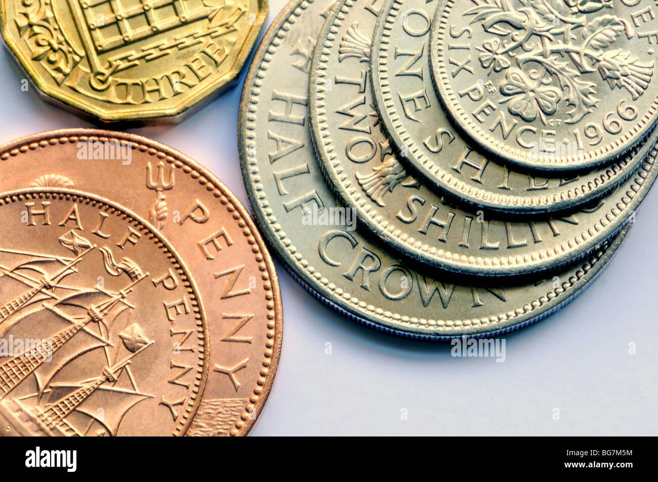 Pre Decimal Coin Images