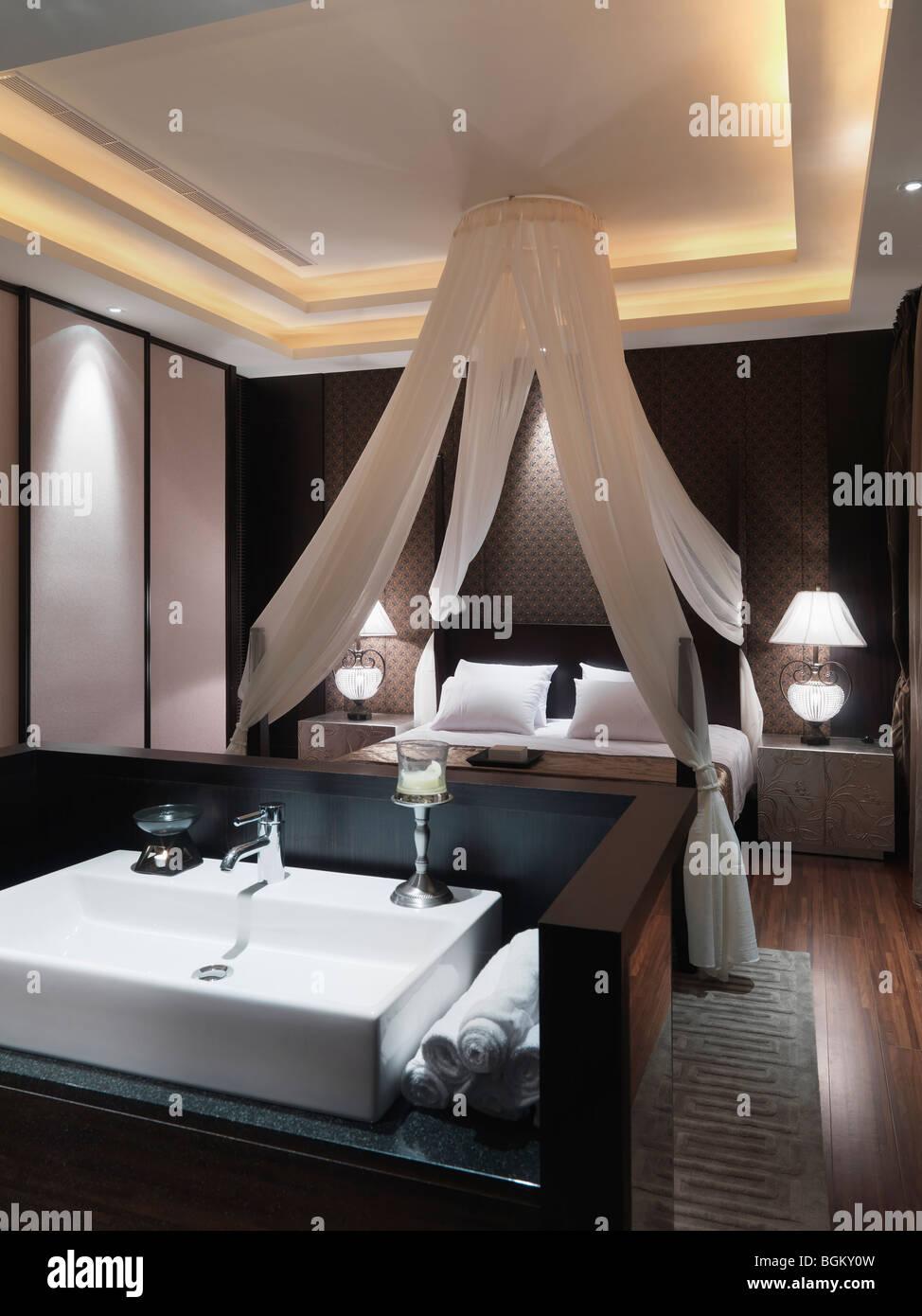 https www alamy com stock photo sink in modern bedroom 27483145 html