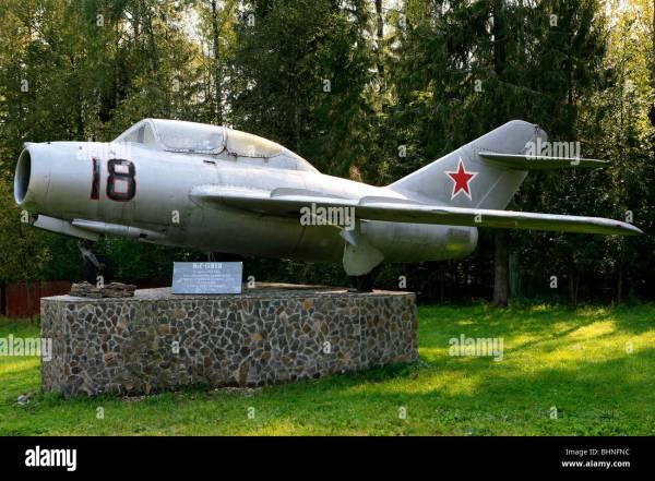 Mig15uti Yuri Gagarin And Vladimir Seregin Died In A