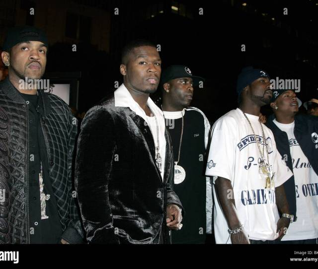 50 Cent G Unit Get Rich Or Die Tryin World Premier Chinese Theatre Hollywood Los Angeles Usa
