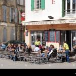 France Arles Provence Region French Outdoor Cafe Brasserie L Aficion Stock Photo Alamy
