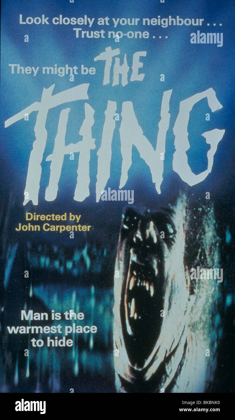 https www alamy com stock photo the thing 1982 poster 29147300 html