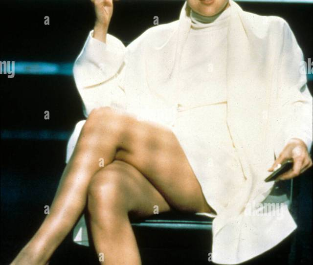 Basic Instinct 1992 Sharon Stone Bsi 132 Stock Image