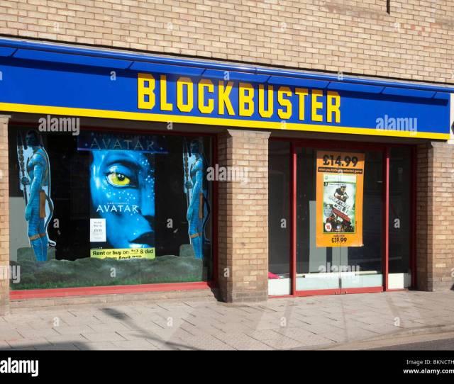 Blockbuster Video Dvd Store