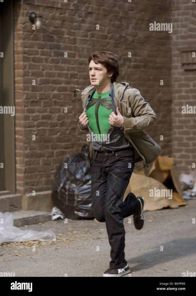 SUPERHERO MOVIE  2008  DRAKE BELL CRAIG MAZIN  DIR  004 Stock Photo     SUPERHERO MOVIE  2008  DRAKE BELL CRAIG MAZIN  DIR  004