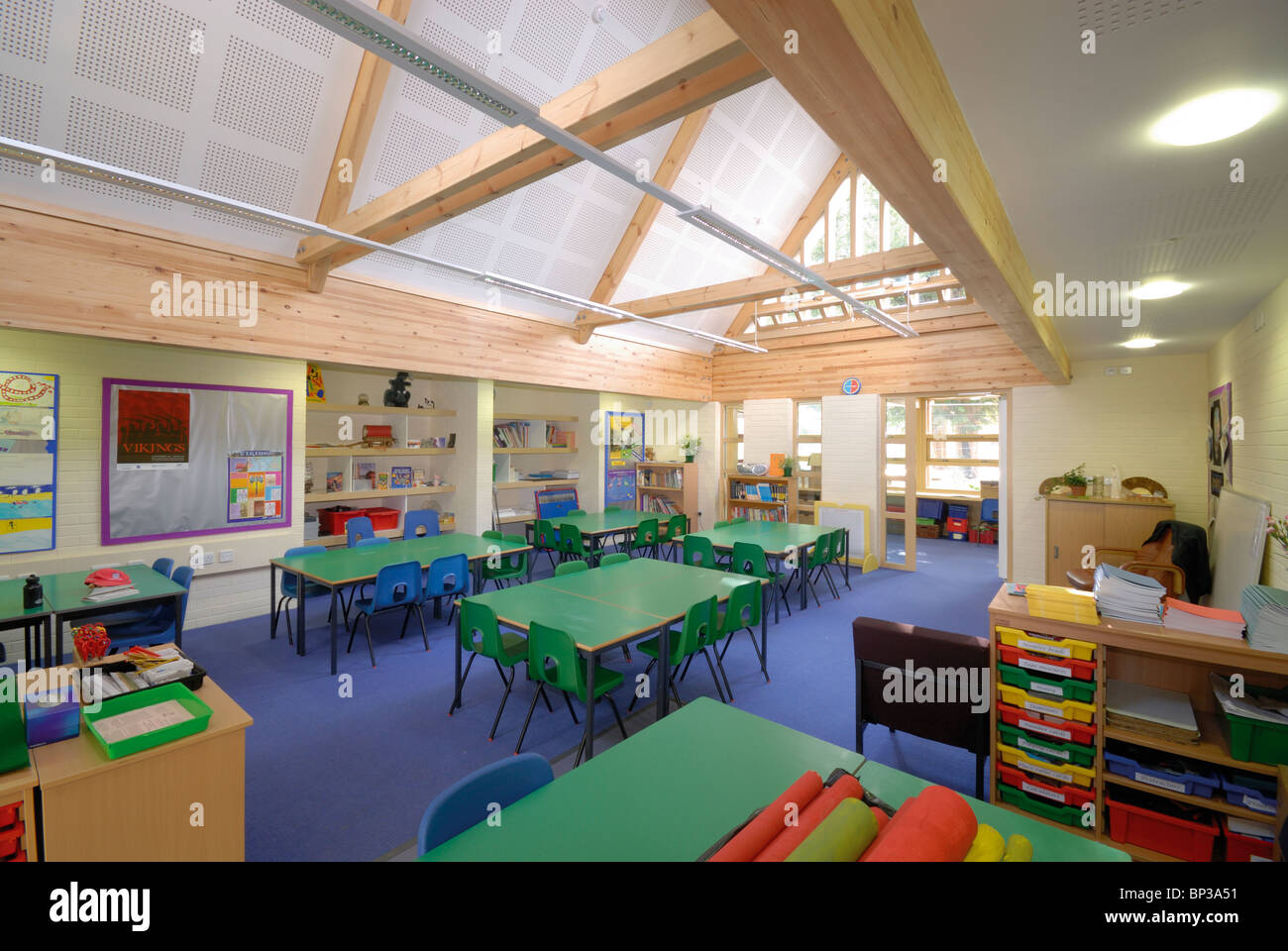 Micheldever Church Of England Primary School Classroom