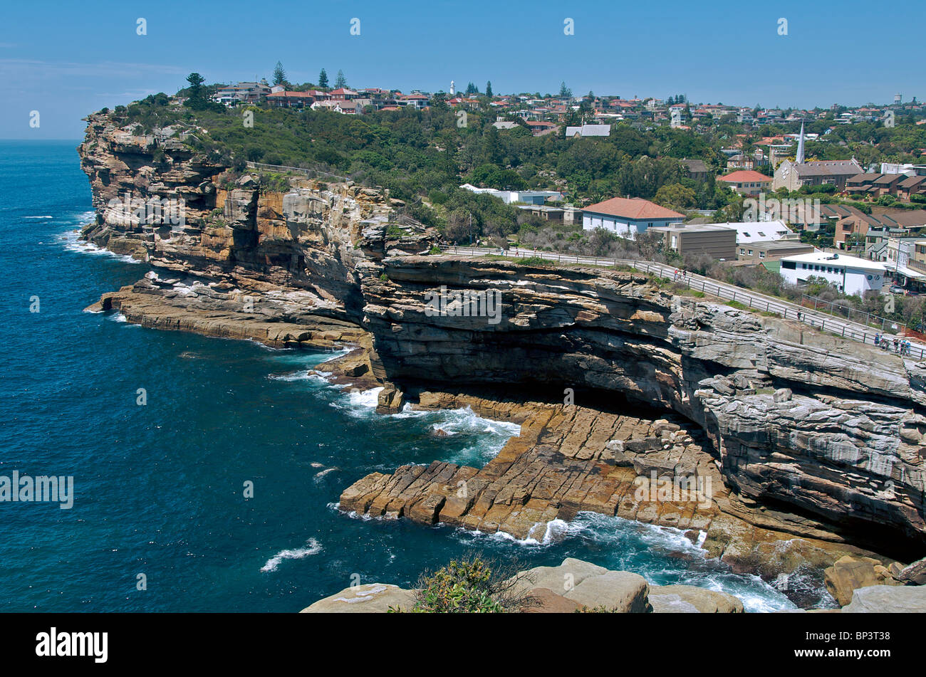 The Gap Watsons Bay Sydney NSW Australia Stock Photo