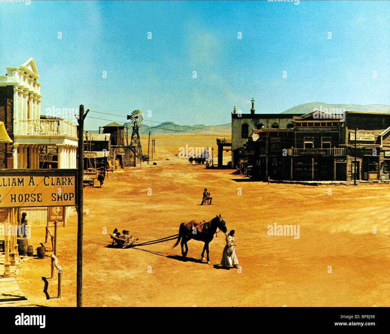 Wild West Street Scene My Name Is Nobody Il Mio Nome E