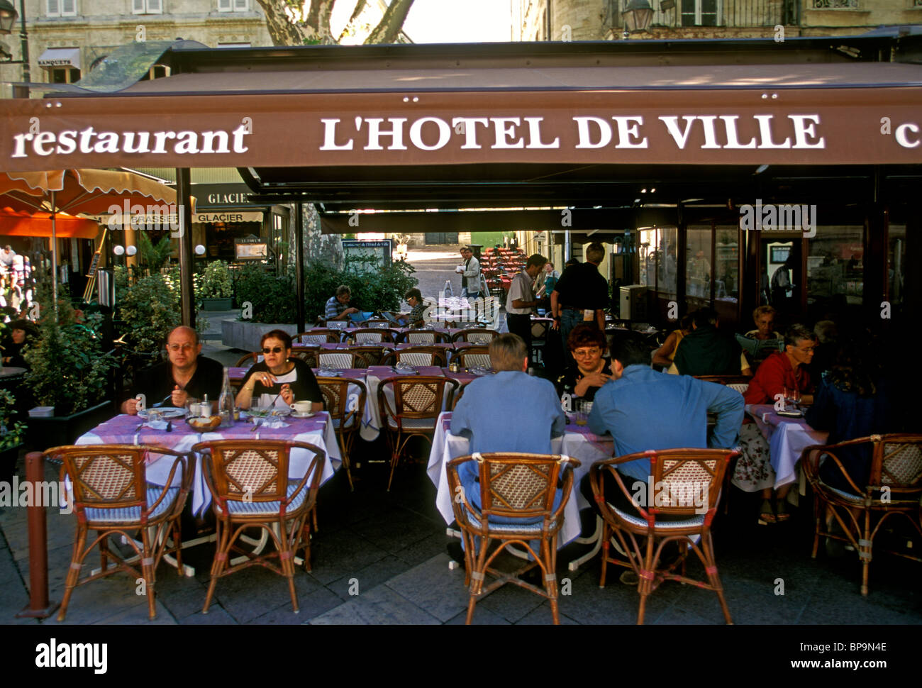 https www alamy com stock photo lhotel de ville restaurant french restaurant french food and drink 30946958 html