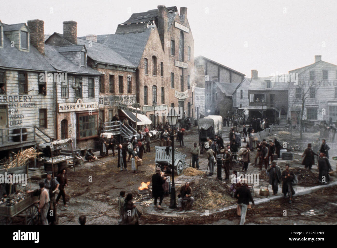 Town Scene Gangs Of New York Stock Photo Royalty