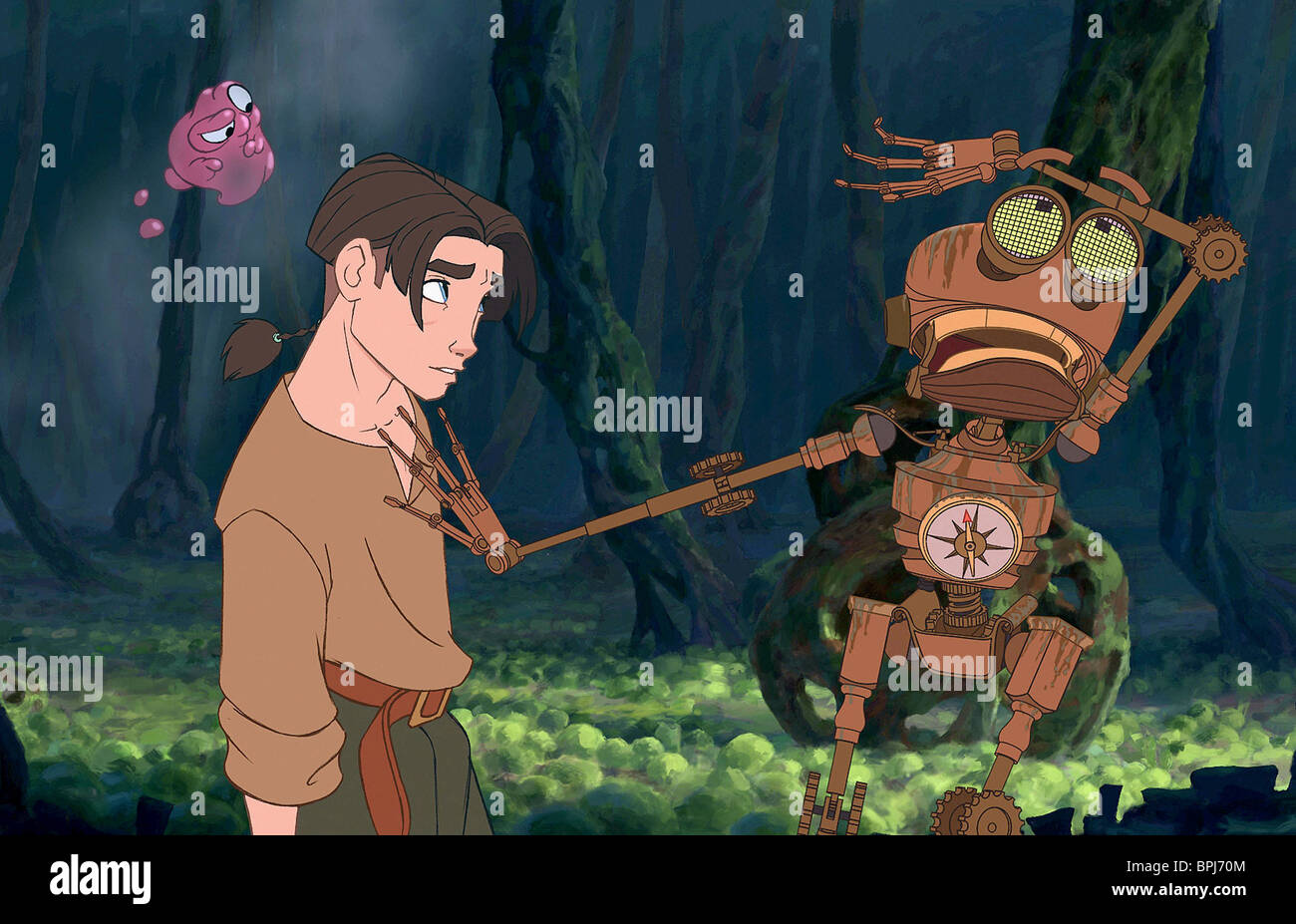 Morph Jim Hawkins Ben Treasure Planet 2002 Stock Photo Alamy