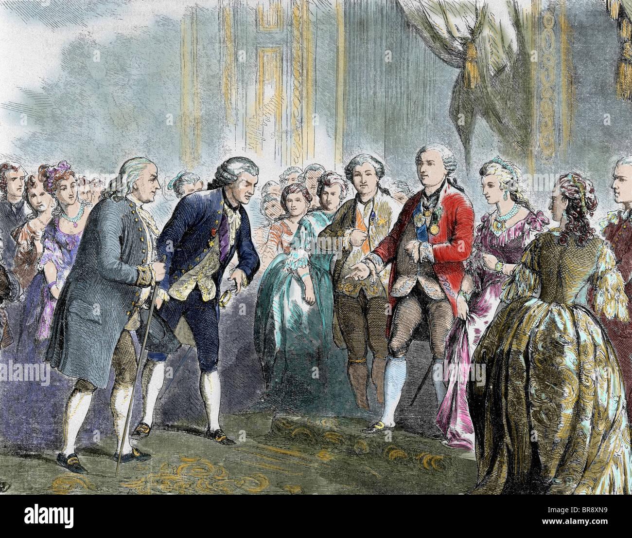 Franklin Benjamin Statesman And Scientist