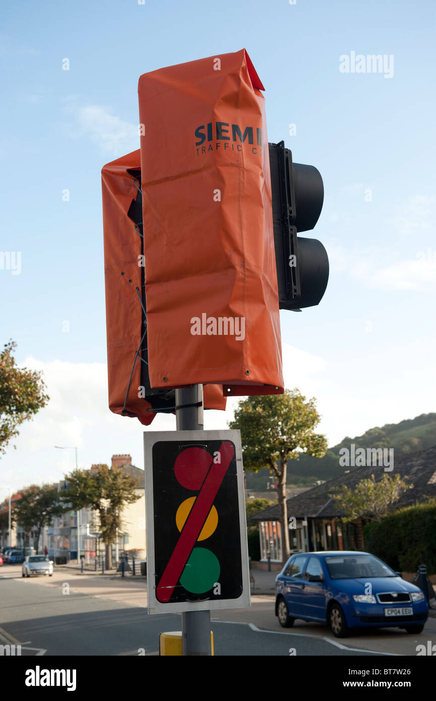 Traffic Lights Out Order Sign