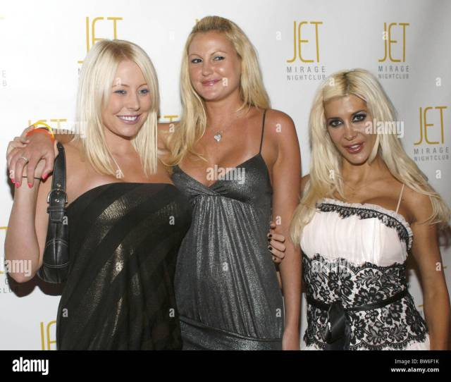 Vh Rock Of Love Charm School Party At Jet Nightclub Stock Image