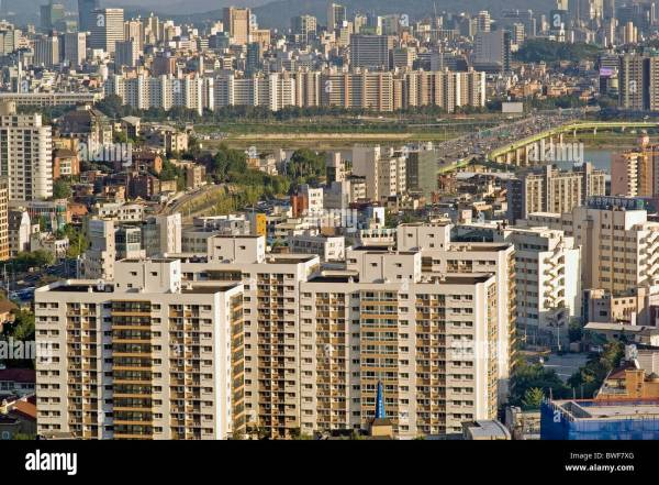 City view, Seoul, South Korea Stock Photo: 32912280 - Alamy