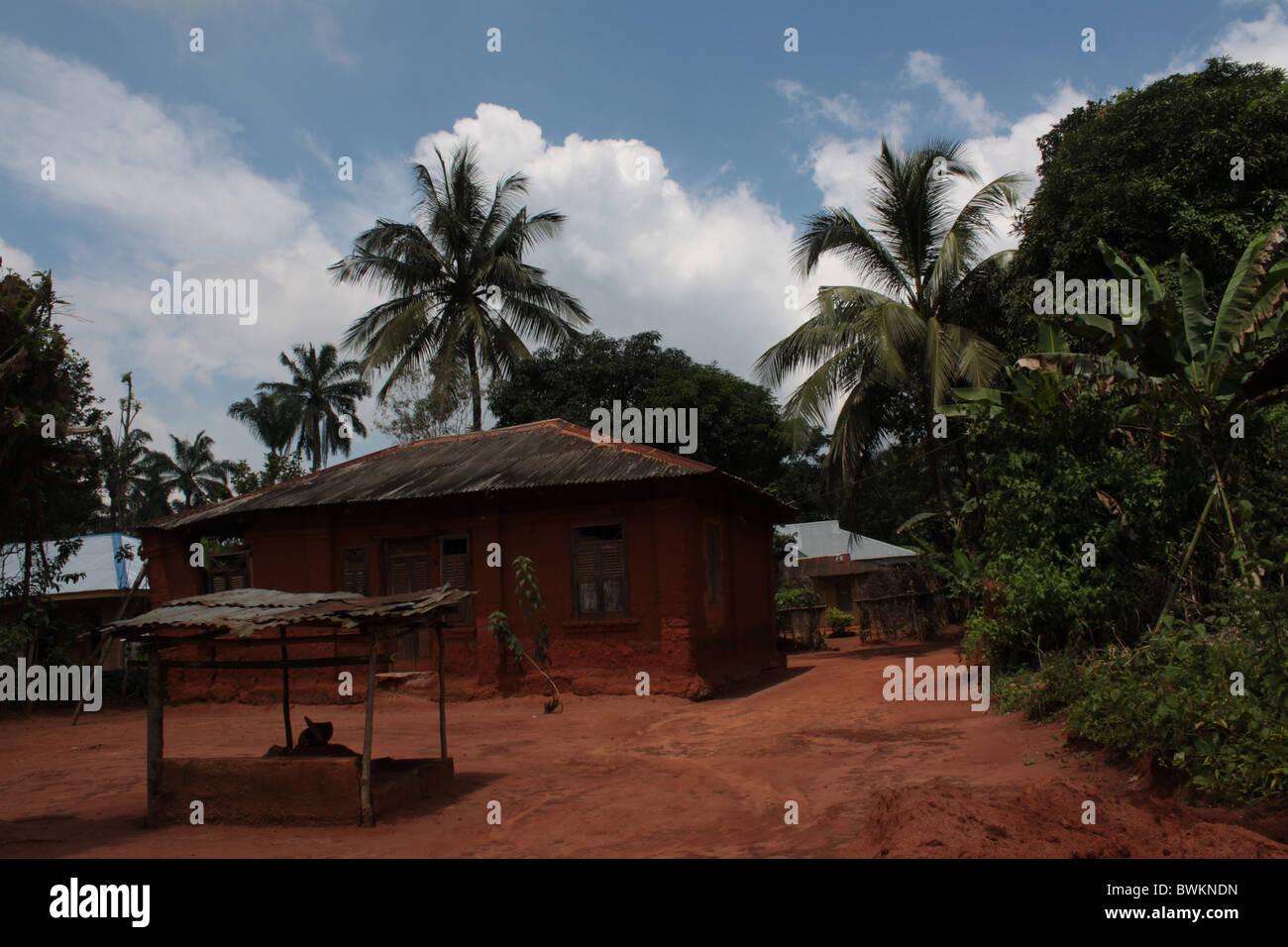 Best Kitchen Gallery: Nigeria Village House Stock Photos Nigeria Village House Stock of Rural Houses In Nigeria on rachelxblog.com